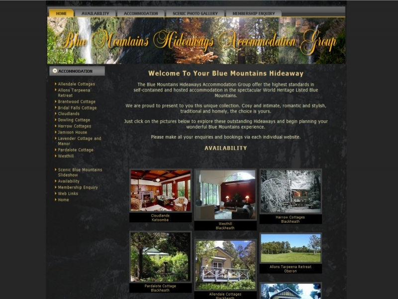 Blue Mountains Hideaways Group