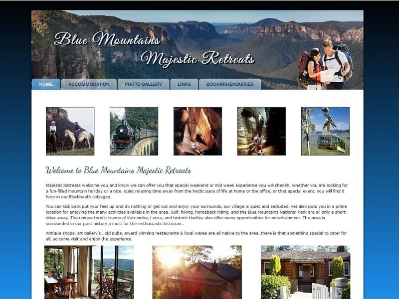 Blue Mountains Majestic Retreats