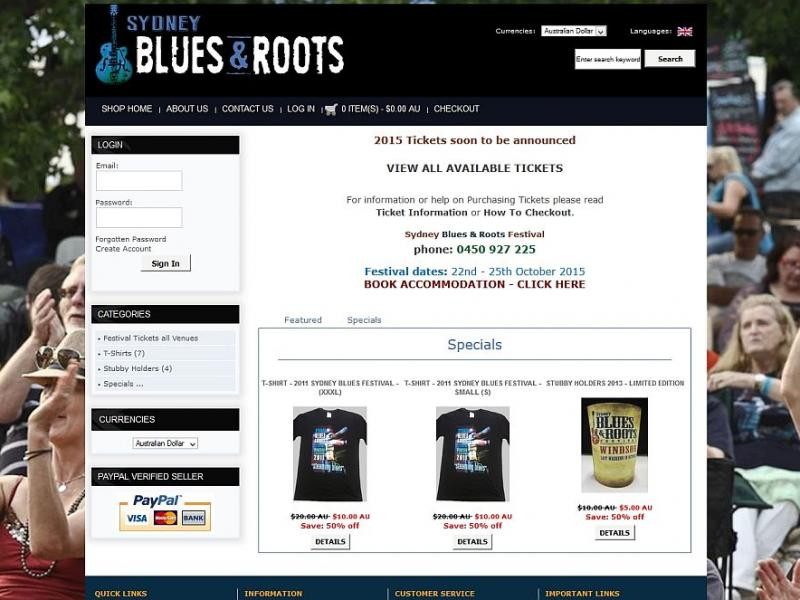 Sydney Blues & Roots Shop