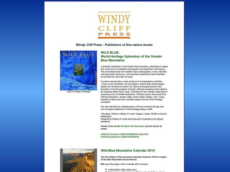 Windy Cliff Press